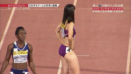 【勃起注意】短パン姿の陸上女子選手のエッチな体の画像まとめ 38枚 No.33