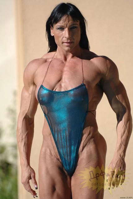 外国人の筋肉ガチムキマッチョな女性の6つに割れた腹筋エロ過ぎ 35枚 No.13