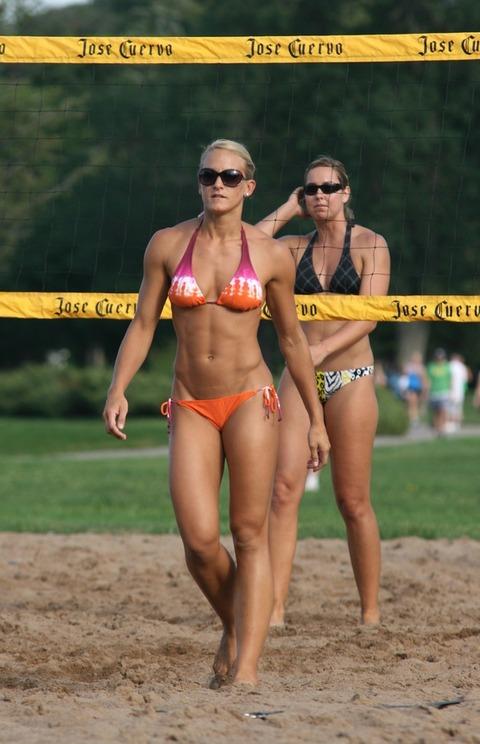 外国人の筋肉ガチムキマッチョな女性の6つに割れた腹筋エロ過ぎ 35枚 No.21