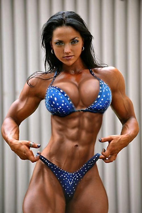 外国人の筋肉ガチムキマッチョな女性の6つに割れた腹筋エロ過ぎ 35枚 No.29
