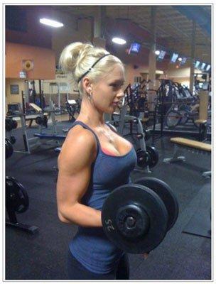 外国人の筋肉ガチムキマッチョな女性の6つに割れた腹筋エロ過ぎ 35枚 No.30
