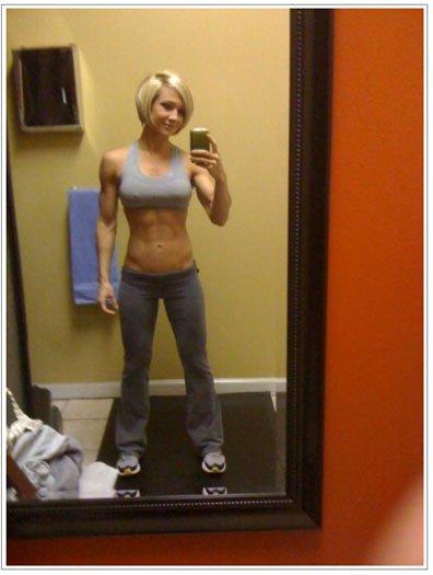 外国人の筋肉ガチムキマッチョな女性の6つに割れた腹筋エロ過ぎ 35枚 No.32