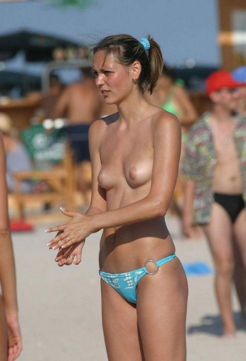 【盗撮画像】美女達の日焼け跡がエロ過ぎ!海外ヌーディストビーチ! 37枚 No.27