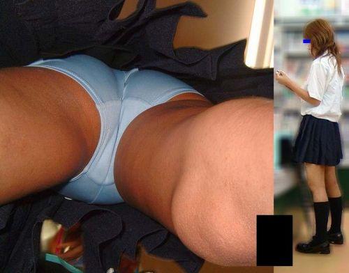 JKのミニスカ内のおパンツが鮮やかに盗撮されたエロ画像! 39枚 No.17