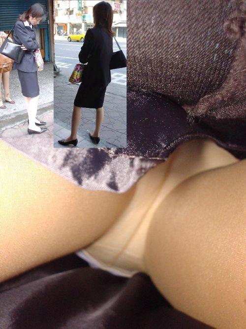 街中でOLのパンチラを逆さ撮り盗撮画像がくっそエロいんだがww 37枚 No.17