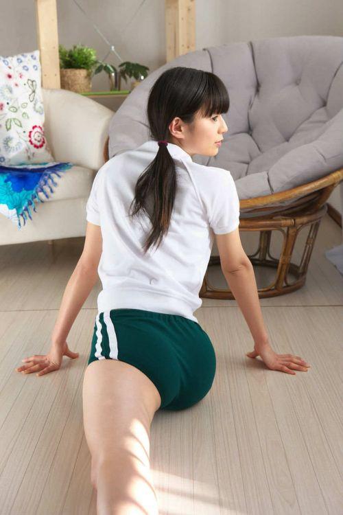 【画像】ブルマを履いた体操服姿がエロ過ぎるJK! 39枚 No.4