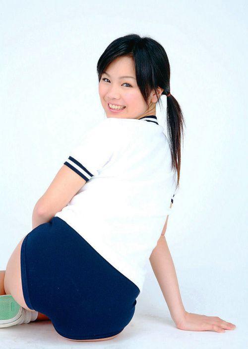 【画像】ブルマを履いた体操服姿がエロ過ぎるJK! 39枚 No.9