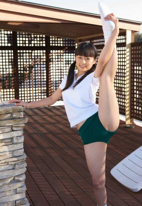【画像】ブルマを履いた体操服姿がエロ過ぎるJK! 39枚 No.13