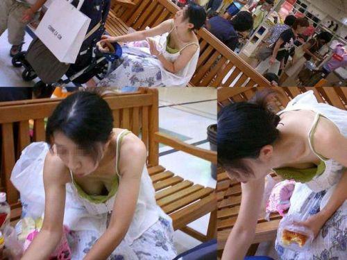 【盗撮エロ画像】デッカイおっぱいの女の子の巨乳胸チラまとめ 44枚 No.40