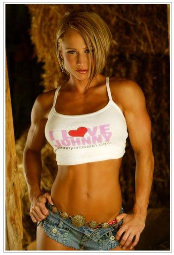 筋肉を鍛えてる外人女性が自慢の肉体を見せつけてくるエロ画像 35枚 No.2