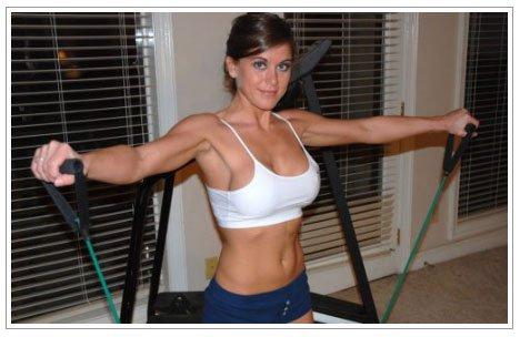 筋肉を鍛えてる外人女性が自慢の肉体を見せつけてくるエロ画像 35枚 No.5