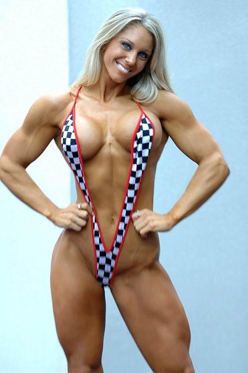 筋肉を鍛えてる外人女性が自慢の肉体を見せつけてくるエロ画像 35枚 No.10