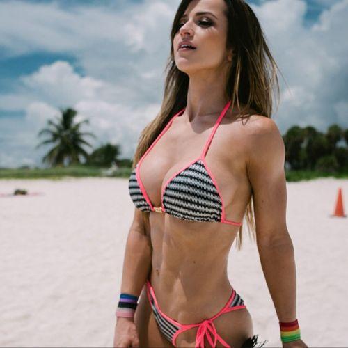 筋肉を鍛えてる外人女性が自慢の肉体を見せつけてくるエロ画像 35枚 No.11