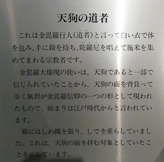 天狗の修行者の説明 27.11.18