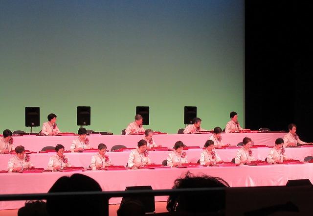 大正琴演奏会最後 28.2.28