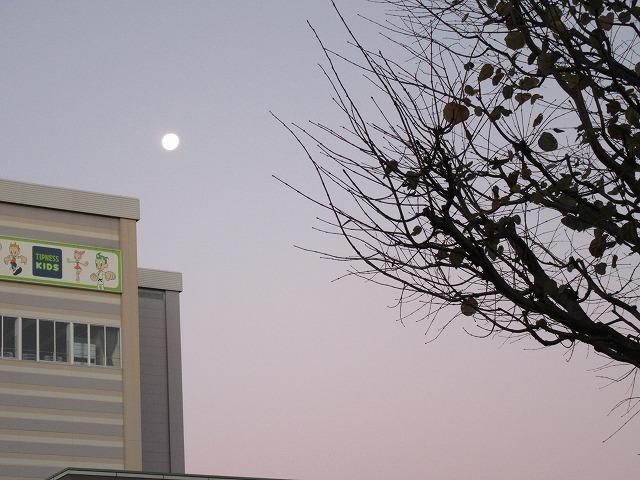 藤枝駅 お月様 27.11.28