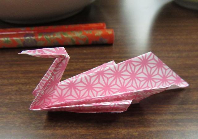 折り紙ツルみたい 28.1.30