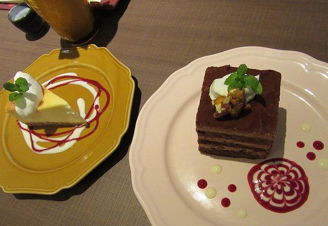 チーズケーキ・チョコケーキ 28.2.27