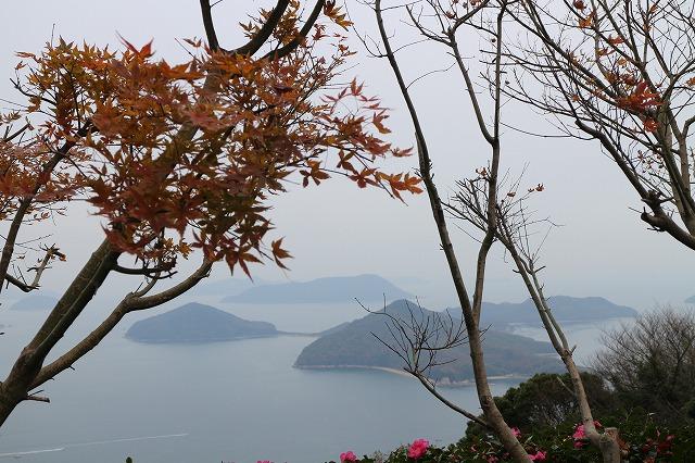 紫雲出山から粟島 27.12.26