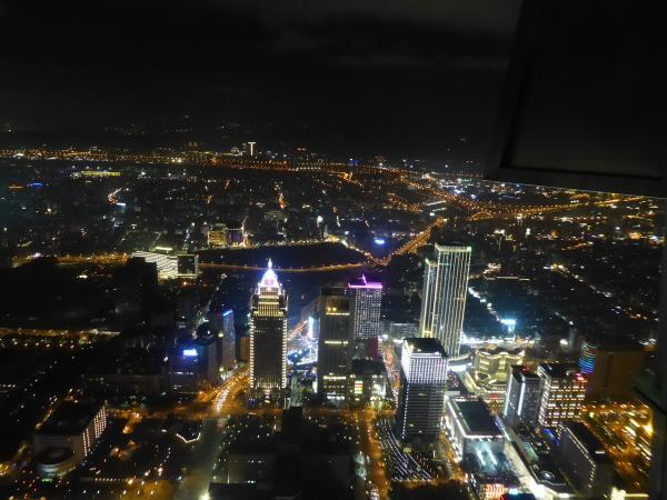 台北101ビル夜景