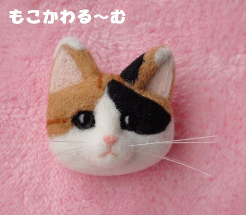 三毛猫顔1