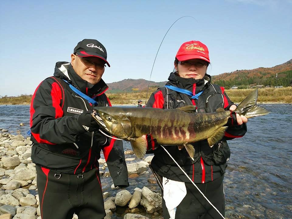荒川鮭釣り 釣り 鮭 11月22日 いい夫婦の日