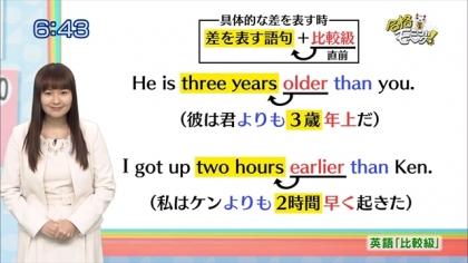 160121合格モーニング 紺野あさ美 (3)