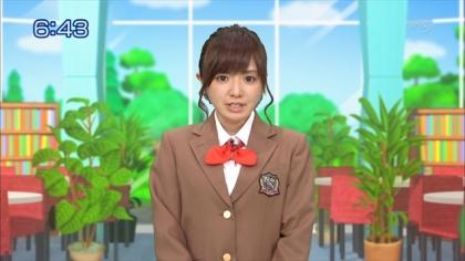 160121合格モーニング 紺野あさ美 (2)