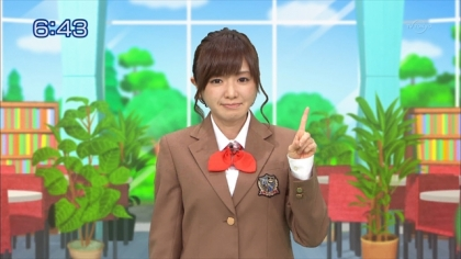 160129合格モーニング 紺野あさ美 (2)