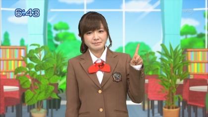 160226合格モーニング 紺野あさ美 (1)