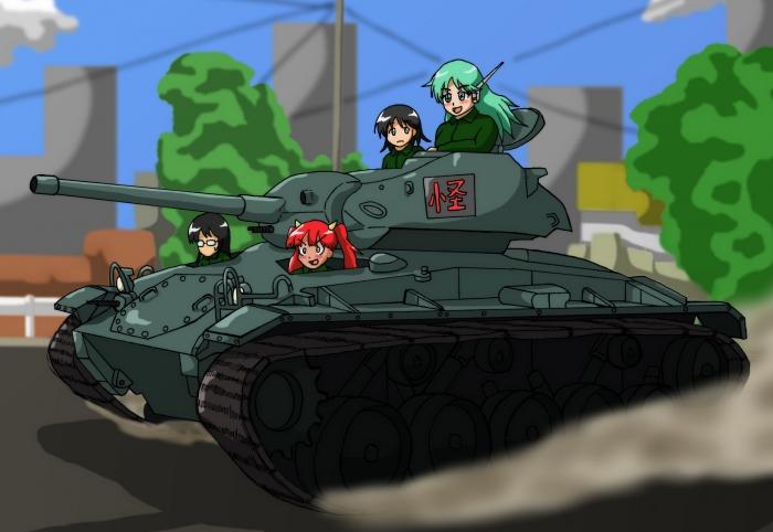 M24チャーフィー軽戦車!