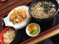 サッポロビール日田 そば&鶏飯