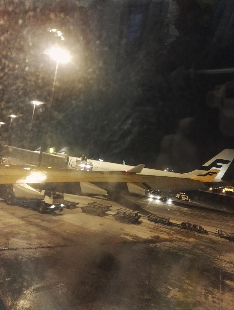 Helsinki Vantaa Airport フィンエアー Finnair