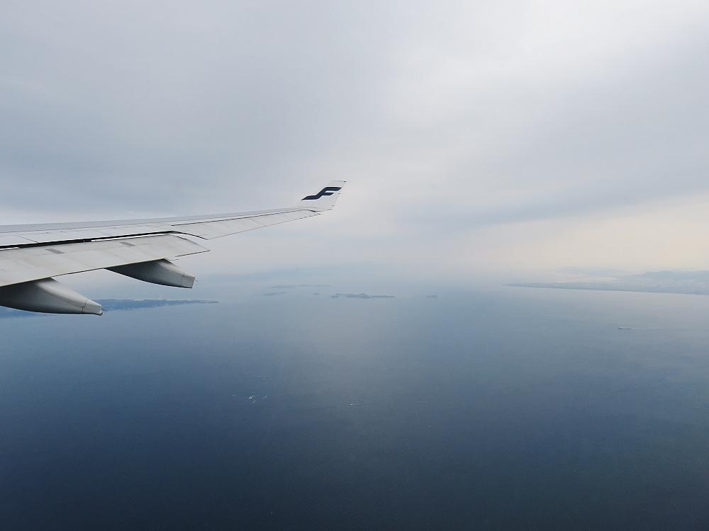 ヘルシンキ 名古屋 フィンエアー 眺め Finnair Helsinki Nagoya