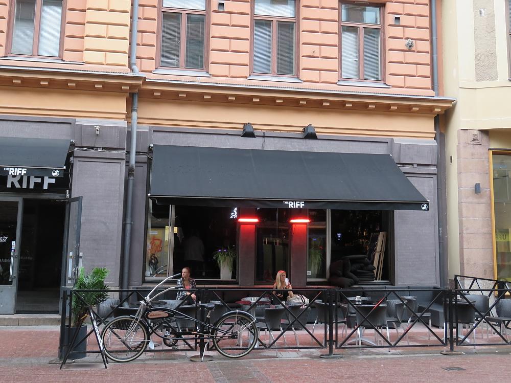The Riff Finland Helsinki ロックバー Jussi69