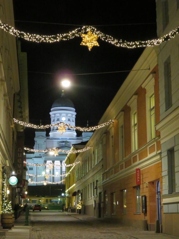 Finland Helsinki Christmas ヘルシンキ大聖堂 クリスマス