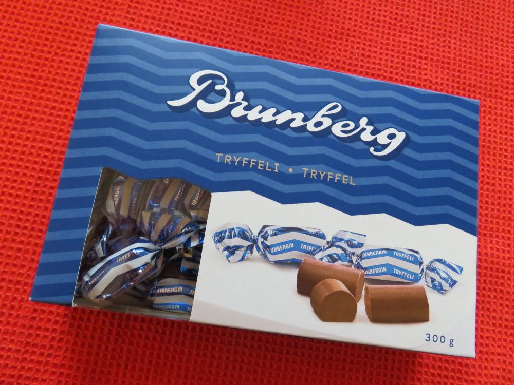 Brunberg Suklaa Finland フィンランド ボックス チョコ