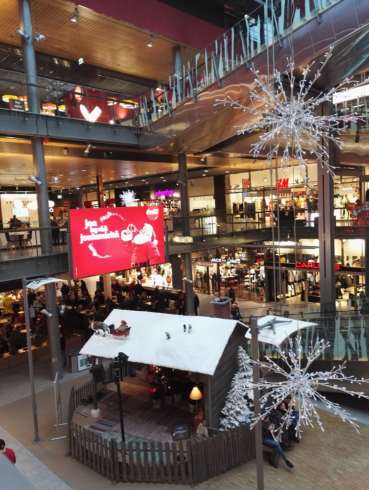 Sello Espoo Finland Christmas フィンランド ショッピングモール クリスマス