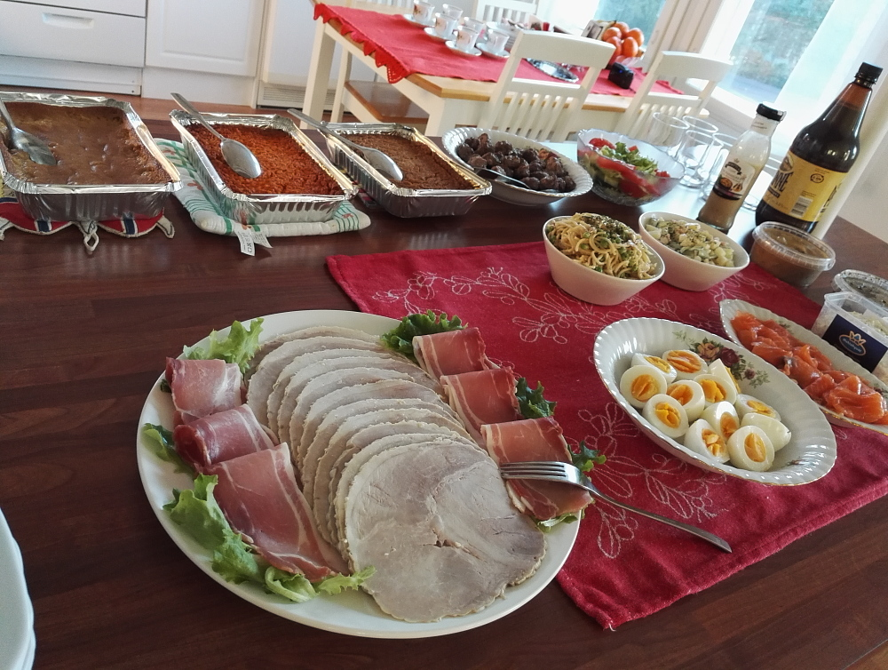 Joulupöytä Christmas foods クリスマス料理 フィンランド