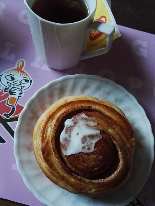 日本 パン屋さん 倉敷 幸せのパン工房 はちみつシナモンロール