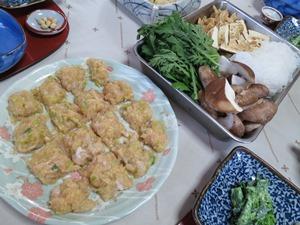 鶏肉のタタキ鍋