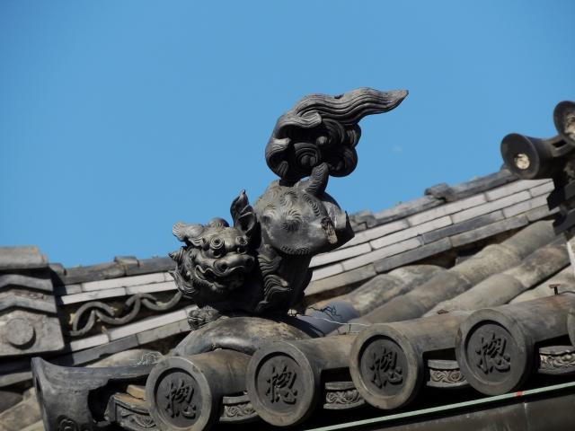 N6815総持寺の屋根瓦