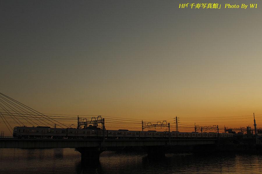 京成3000形快特成田空港行16年1月13日