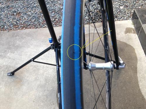 【TCR1のタイヤを補修】・3