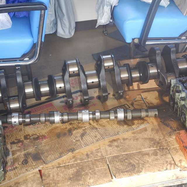 いすゞマリンディーゼルエンジン