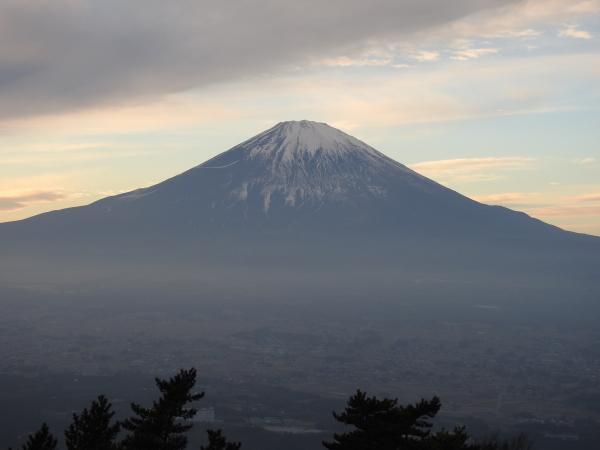 160105 160103夕暮れの富士山0001