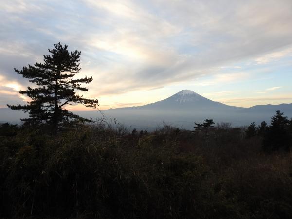 160105 160103夕暮れの富士山0002