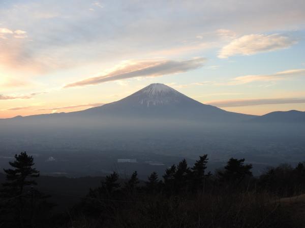 160105 160103夕暮れの富士山0003