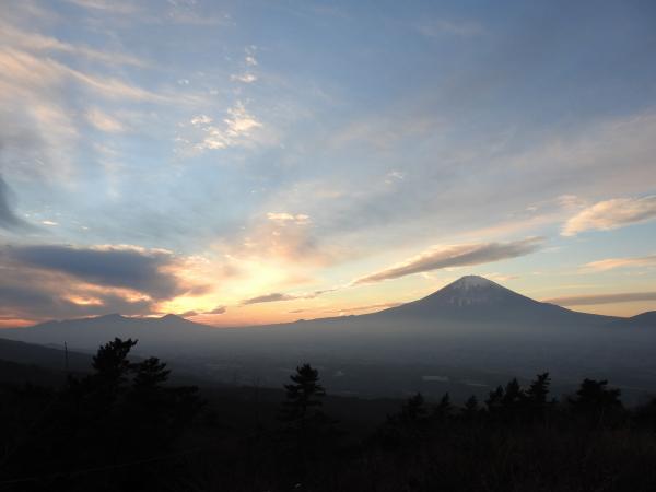 160105 160103夕暮れの富士山0004