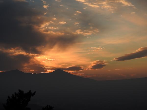 160105 160103夕暮れの富士山0005